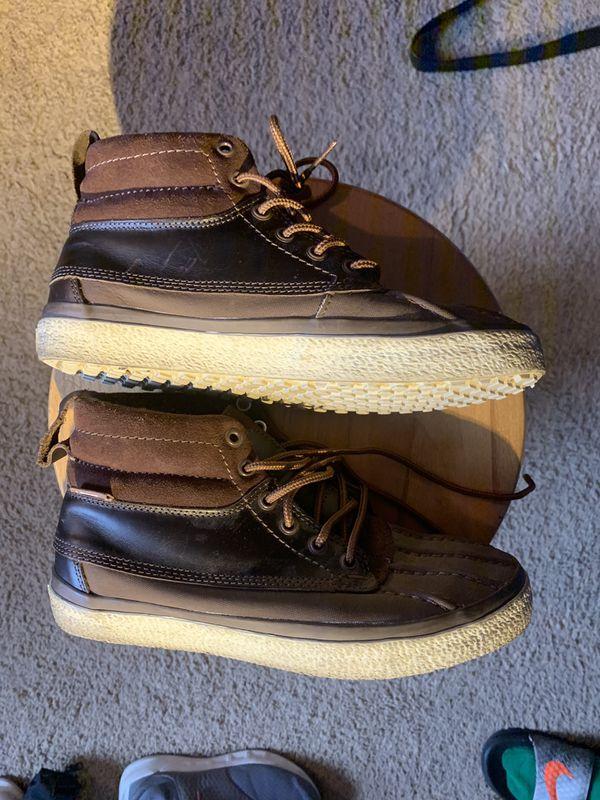 Vans SK8-Hi Del Pato MTE Shoes | Size 7 Men, 8.5 Women's | Brown