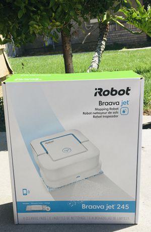 iROBOT BRAAVA JET 245 ROBOT MOP VACUUM for Sale in San Bernardino, CA