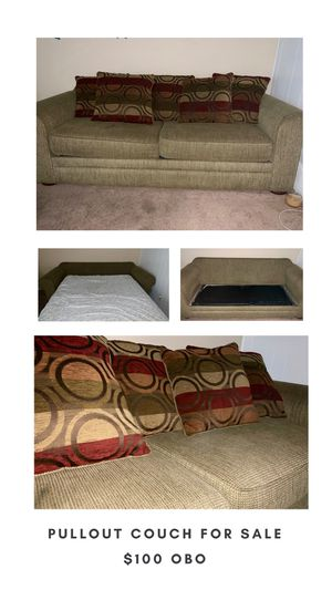 pull out couch $100 obo for Sale in San Diego, CA