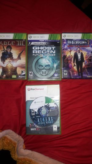 Four Xbox 360 games for Sale in Baltimore, MD