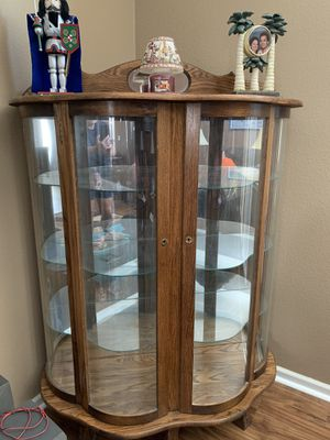 Curio Cabinet and 142 Precious Moments for Sale in Lake Alfred, FL