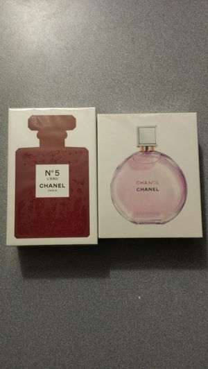 Perfume N°5 L'eau & Chanel Chance Eau Tendre for Women's for Sale in Kent, WA