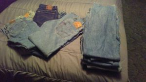 16 pairs of blue jeans for Sale in Nashville, TN