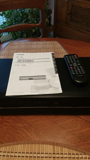Toshiba vcr/DVD player recorder for Sale in Elma, WA