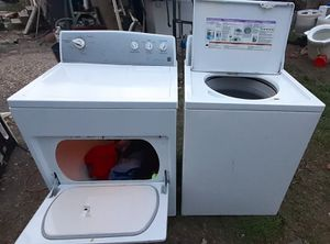 Set of Kenmore Washer and Kemore Gas Dryer in Good Working Condition for Sale in San Antonio, TX