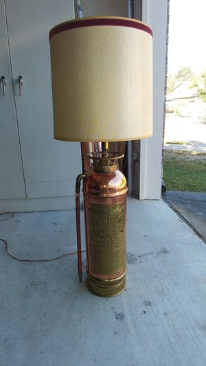 Badger Antique Fire Extinguisher Lamp for Sale in Sun City, TX