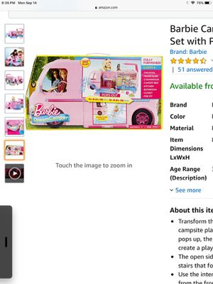 Barbie Camper NIB for Sale in Santa Clarita, CA