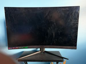 Curved Mai monitor for Sale in Chicago, IL