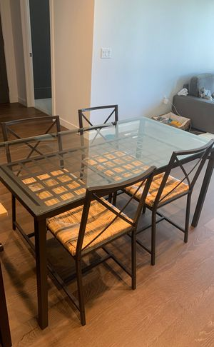 IKEA dining table and chairs set for Sale in San Mateo, CA