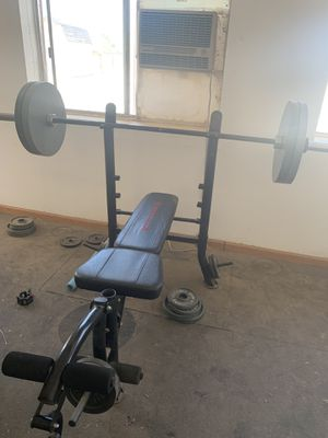 Marcy Club Olympic Weight Bench for Sale in Litchfield Park, AZ