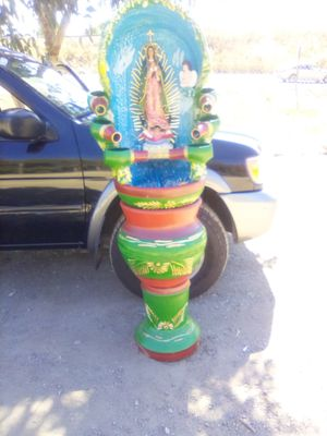 3 pc set Virgin Mary water fountain with New water pump almost 6 feet tall Asking $270 B/O for Sale in Stockton, CA