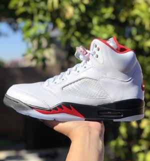"Nike Air Jordan 5 ""Fire Red"" for Sale in Menifee, CA"
