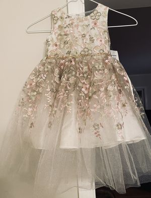 FLOWER GIRL or SPECIAL OCCASION DRESS 3T for Sale in Easley, SC