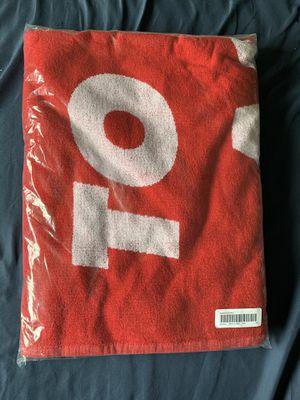 Supreme Towel SS2020 Red for Sale in Birmingham, MI