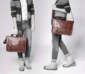 Vintage PU leather shoulder messenger bag for Sale in Arlington, VA