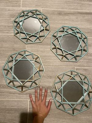 Set of 4 - Mirror Wall Decor for Sale in Corona, CA
