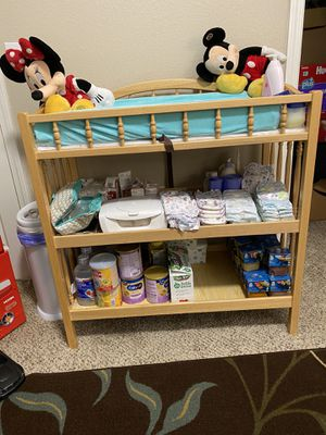 Changing Table with Pad for Sale in Moreno Valley, CA
