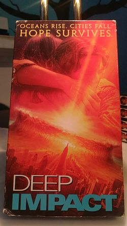 Deep Impact VHS tape for Sale in Tracy,  CA