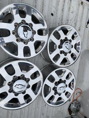 """4X4 Chevy Silverado 2500 HD Wheels 18"""" for Sale in Sumner, WA"""