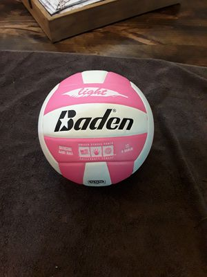 Baden Light Microfiber Training Volleyball (Official), Pink & White for Sale in Chandler, AZ