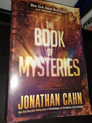 The Book Of Mysteries-A NY Times Best Seller for Sale in St. Louis, MO