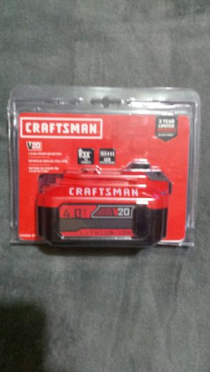 Craftsman 20v Lithium Ion Battery for Sale in DeWitt, IA