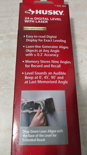 """Husky 24"""" Digital Level Laser 24 inch for Sale in Miami, FL"""