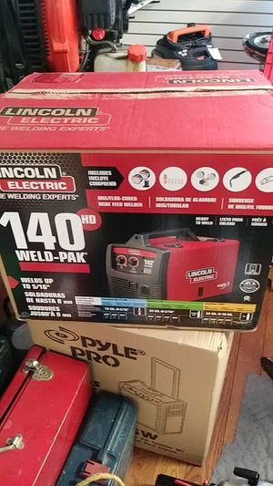 Lincoln Electric 140HD Weld-Pak #K2514-1 MIG wire feed welder for Sale in Morrisville, PA