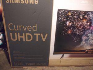 Samsung 55 inch curved TV for Sale in Spokane, WA