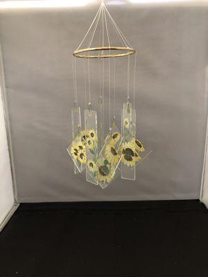 Sunflower wind chimes by artist K. Herranen for Sale in Phoenix, AZ