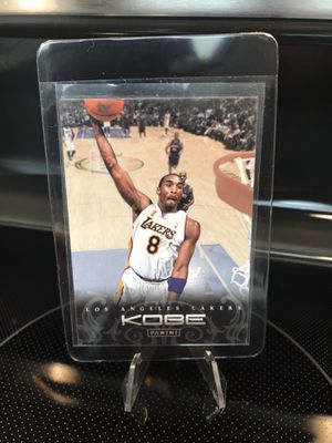 Panini Kobe Bryant NBA Basketball Card - Lakers Jersey 8 Black Mamba Collectible - PSA Beckett BGS 9 or 10 GEM MINT - $9 OBO for Sale in CA, US