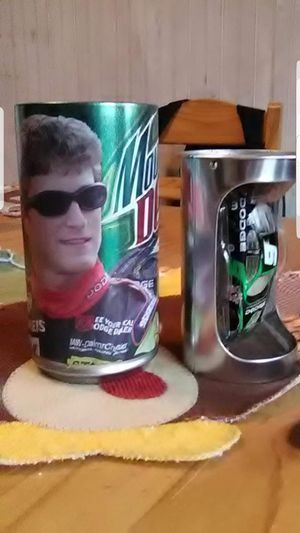 Race car driver and collectable mountain dew can n car for Sale in Allentown, PA