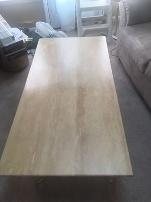 Marble coffee table for Sale in Greensboro, NC