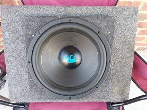 Polk Audio 12-inch sub in a truck box - very good bass! for Sale in La Vergne, TN
