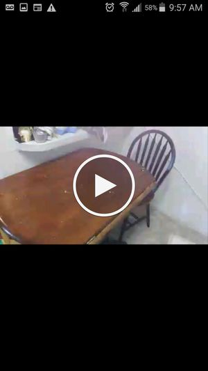Small table 2 chairs for Sale in Camden, NJ