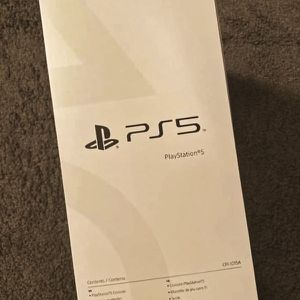PS5 - Sony Playstation 5 Disc Version Brand New In Box for Sale in Hollywood, FL