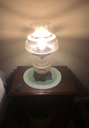 Antique lamp both top and bottom light for Sale in Herndon, VA