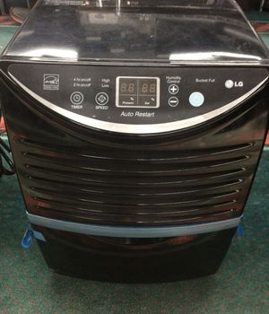 LG LHD65EBLY7 115V 65-Pint Capacity Dehumidifier (Orange Tag) for Sale in Laurel, MD