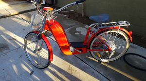 Cranes Y-Pedal Electric Bicycle for Sale in Riverside, CA