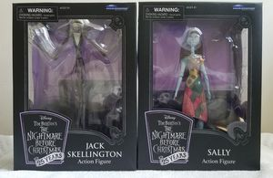 DIAMOND SELECT THE NIGHTMARE BEFORE CHRISTMAS JACK & SALLY FIGURES for Sale in Rochester, NY