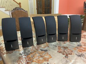 Bose 161 - 6 Home theatre speakers ( two front, two middle, two back surround) for Sale in Chattanooga, TN