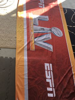 ESPN SUPERBOWL LV Fabric Banner / barricade Cover for Sale in Casselberry,  FL