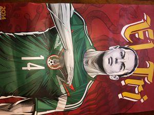 Javier Hernadez (Él Chicharito) Poster for Sale in Traverse City, MI