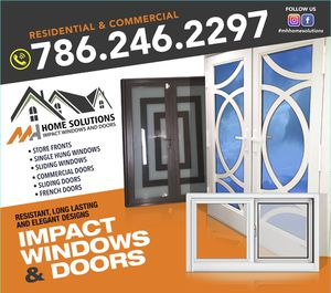 Impact windows and doors for Sale in Miami, FL