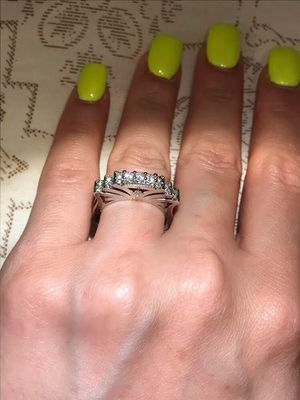 😍💍👰Stamped 925 Sterling Silver Engagement Ring for Sale in Dallas, TX