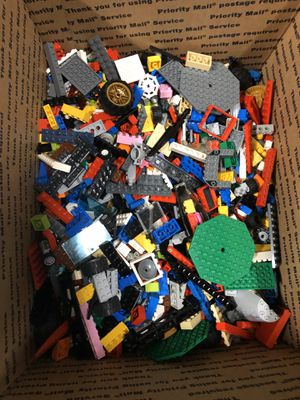 Big ten pound box of lego pieces for Sale in Raleigh, NC