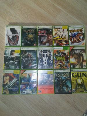 xbox 360 games all for $35 for Sale in San Diego, CA