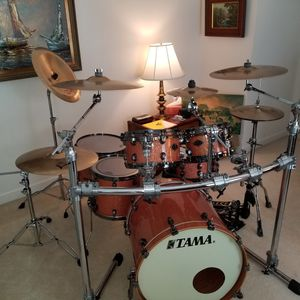 Two Tama Star Classic shell packs 1 Birch performer 1 Birch bubinga for Sale in New Bern, NC