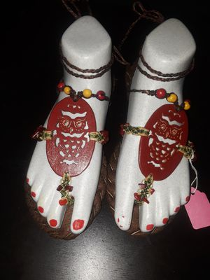 Handmade sandals from El Salvador for Sale in Bronx, NY