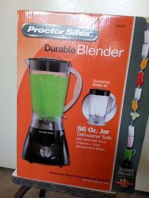 Proctor Silex Durable Blender. 56ox. Jar 600 watts .2 speed. Stainless Steel Blade for Sale in Corona, CA